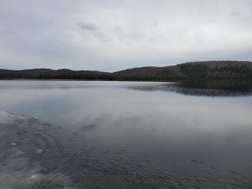 Lac Patrick dégel 2021-04-14
